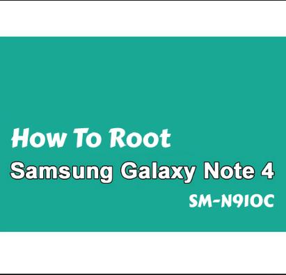 روت جالكسي نوت 4 (موديل SM-N910C) بنظام اندرويد مارشملو 6.0.1