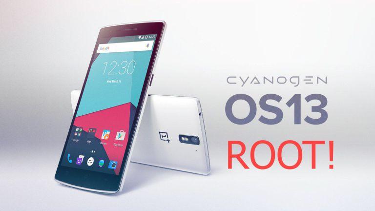 CyanogenOS-13-OnePlusOne روت