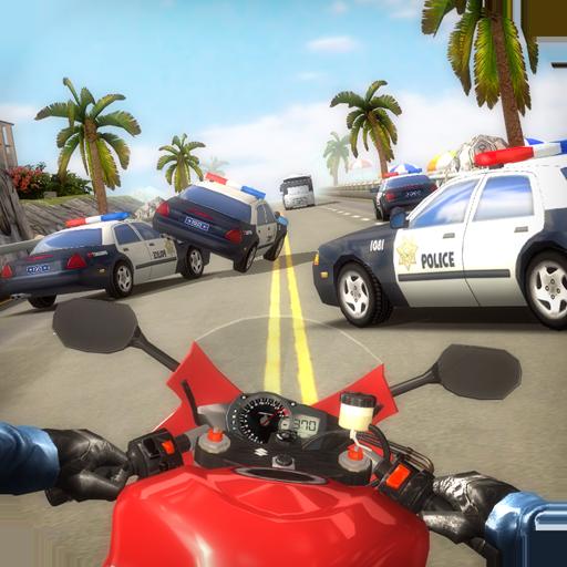 Photo of لعبة سباق الدراجات الرائعة Highway Traffic Rider v1.6.4