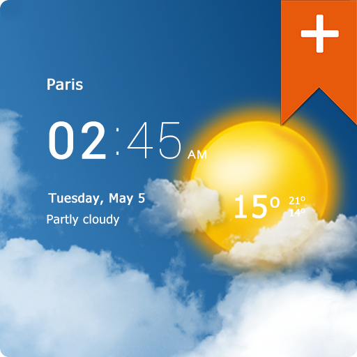 Photo of تطبيق الطقس Transparent clock & weather النسخة المدفوعة