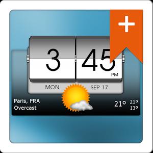 Photo of التطبيق المصغر الرائع 3D Flip Clock & World Weather Pro