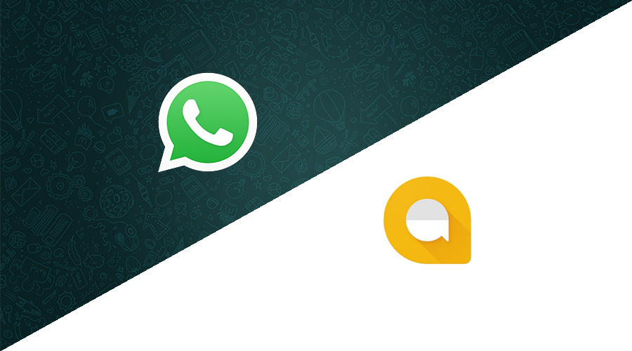 مميزات وعيوب والفرق بين Google Allo و WhatsApp Messenger