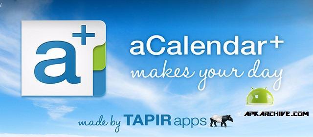Photo of تطبيق aCalender أفضل تطبيقات التقويم