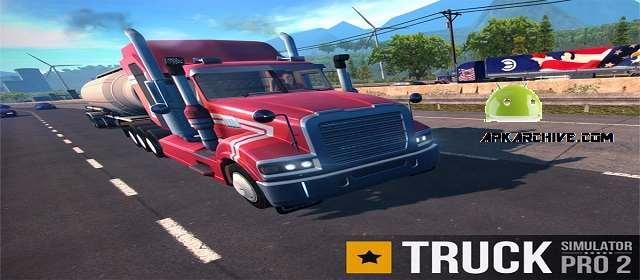 Photo of لعبة الشاحنات truck Simulator PRO 2 v 1.5.1 APK