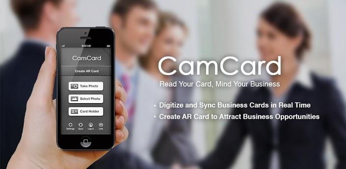 Photo of تطبيق CamCard لحفظ بطاقات الاعمال بشكل الكتروني