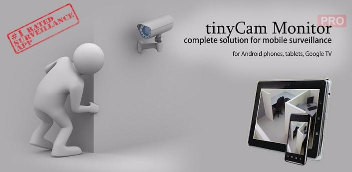 Photo of تطبيق المراقبة Tiny Cam Monitor PRO