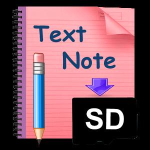 Photo of تطبيق الملاحظات Notes2SD Text Editor