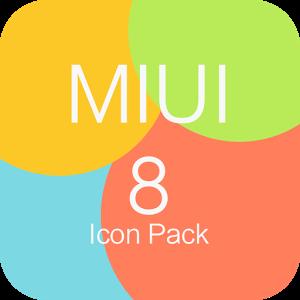 Photo of تطبيق  MIUI 8 – Icon Pack 1.0.5 لتغيير شكل التطبيقات و ايقونات الهاتف