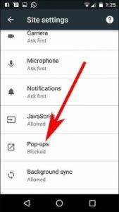 •منع الاعلانات من تطبيق جوجل كروم