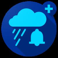 تطبيق Rain Alarm PRO للتنبية بسقوط الامطار في اي مكان في العالم