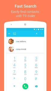 تطبيق Contacts+ لتغيير شكل سجل الاسماء و واجهة اتصال الهاتف