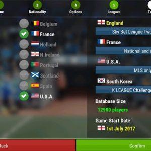 لعبة Football Manager Mobile 2018 الشهيرة للاندرويد بالاصدار الاخير