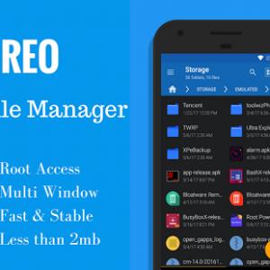 تطبيق Oreo File Manager Pro احد افضل تطبيقات ادارة الهاتف و الملفات
