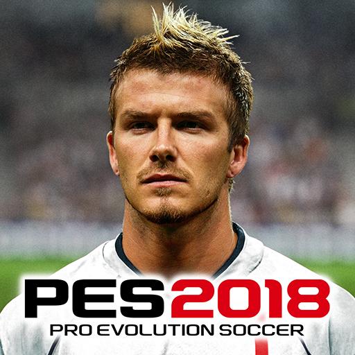 لعبة PES 2018 PRO EVOLUTION SOCCER من شركة كونامي بالاصدار الجديد للهواتف