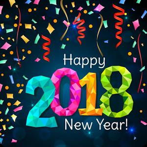 اجمل التطبيقات للتهنئة بالعام الجديد 2018