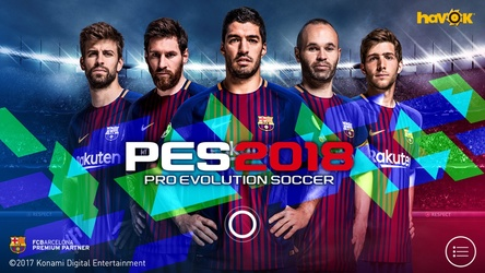 Photo of تحميل لعبة بيس 2018 PES 2018 PRO EVOLUTION SOCCER لهواتف اندرويد