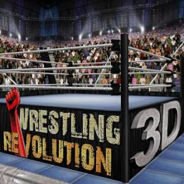 تحميل لعبة wrestling revolution