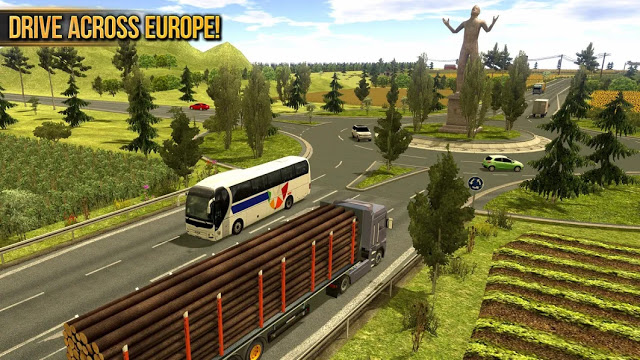 Photo of تحميل لعبة قيادة الشاحنات Truck Simulator 2018 Europe للاندرويد