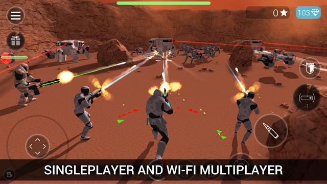 Photo of تحميل لعبة الحرب والأكشنCyberSphere: SciFi Shooter للاندرويد كاملة