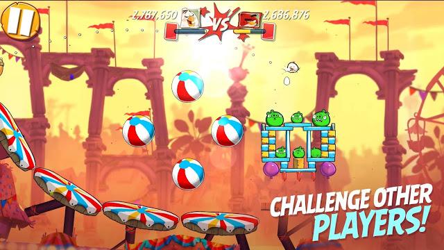 لعبة الطيور الغاضبة Angry Birds 2 للاندرويد