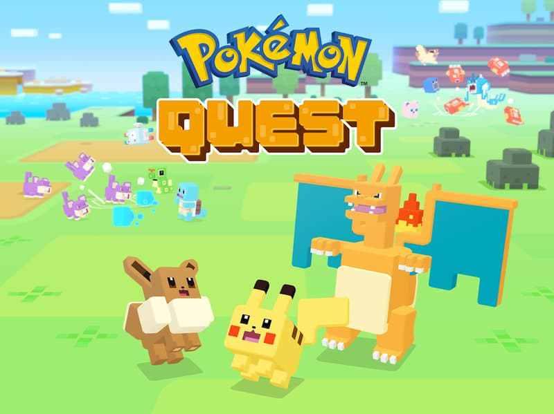 تحميل لعبة بوكيمون كويست Pokémon Quest للاندرويد كاملة