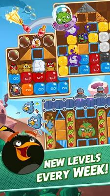 Photo of تحميل لعبة الطيور الغاضبة الجديدة Angry Birds Blast للاندرويد كاملة