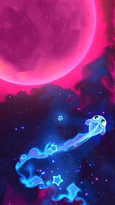 لعبة المغامرات Super Starfish للاندرويد