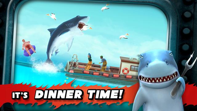 تحميل لعبة القرش Hungry Shark Evolution للاندرويد