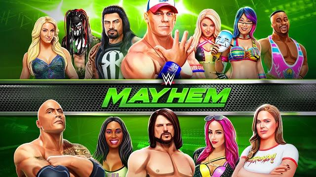 Photo of تحميل لعبة المصارعة الحرة WWE Mayhem للاندرويد