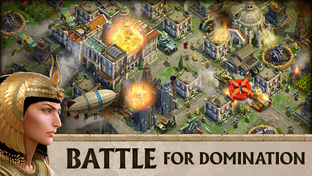 Photo of تحميل اللعبة الاستراتيجة DomiNations للاندروند