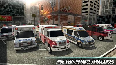Photo of تحميل لعبة قيادة سيارات الإسعاف City Ambulance – Rescue Rush للاندرويد