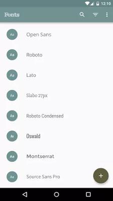 تحميل تطبيق تغيير خط الهاتف FontFix  للاندرويد
