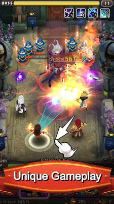 تحميل لعبة اربي جي Hyper Heroes: Marble-Like RPG للاندرويد كاملة