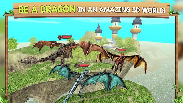 Photo of تحميل لعبة التنانين الرائعة Dragon Sim Online: Be A Dragon للاندرويد كاملة