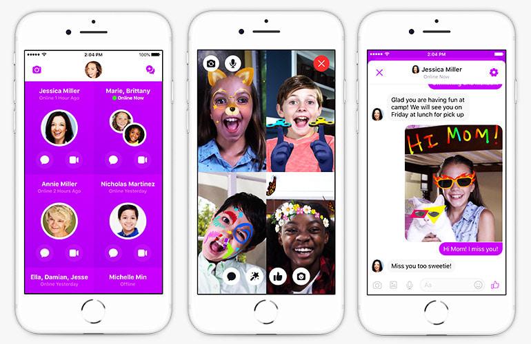 تحميل تطبيق ماسنجر كيدز Messenger Kids للأندرويد كامل