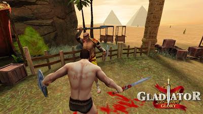 تحميل لعبة مصارع مصر Gladiator Glory Egypt للاندرويد كاملة