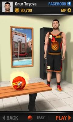 تحميل لعبة كرة السلة Real Basketball للاندوريد كاملة