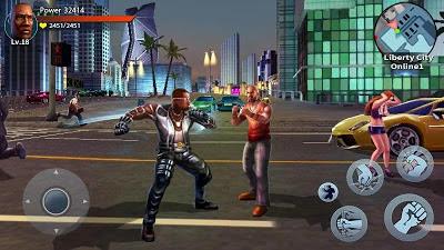 تحميل لعبة حرامي السيارات Auto Theft Gangsters للاندرويد كاملة