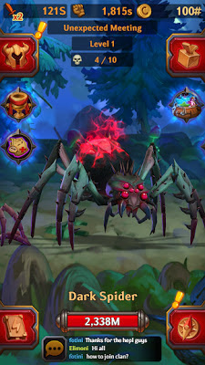 تحميل اللعبة الاستراتيجية الممتعة Dungeon Crusher: Soul Hunters للاندرويد