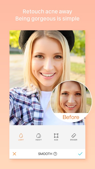 تحميل تطبيق AirBrush لتعديل الصور للاندرويد