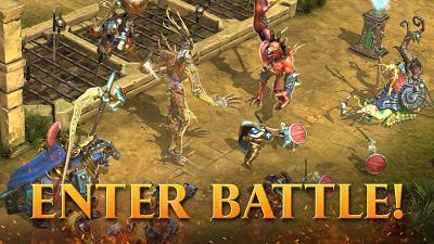 لعبة المغامرات Warhammer Age of Sigmar: Realm War للاندرويد