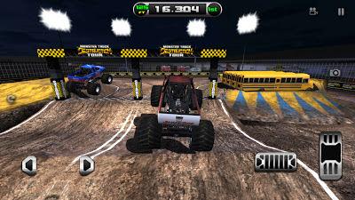 تحميل لعبة قيادة الشاحنات Monster Truck Destruction للاندوريد