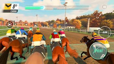 تحميل لعبة سباق الخيول Rival Stars Horse Racing للاندرويد كاملة