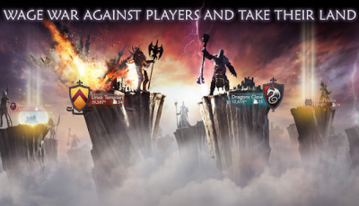 تحميل لعبة الحروب Dawn Of Titans للاندرويد كاملة
