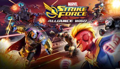 تحميل لعبة MARVEL Strike Force للاندرويد كاملة