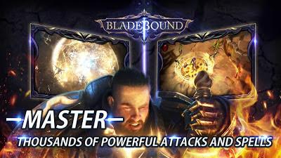 تحميل لعبة الاكشن والمغامرات Blade Bound للاندرويد