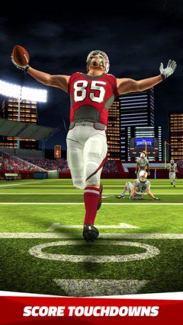 تحميل لعبة كرة القدم الامريكيةFlick Quarterback للاندرويد