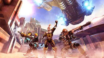 تحميل لعبة الاكشن والمغامرات Shadowgun Legends للاندرويد كاملة