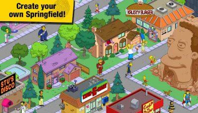 تحميل لعبة سيمبسونز The Simpsons Tapped Out للاندرويد كاملة