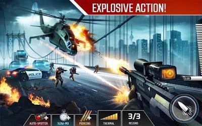تحميل لعبة القناص Kill Shot Bravo للاندرويد كاملة